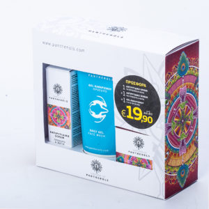 Garden Of Panthenols Πακέτο με Ενυδατική κρέμα ημέρας προσώπου,50ml & Δώρο Αντιρυτιδική κρέμα για πρόσωπο & μάτια,50ml