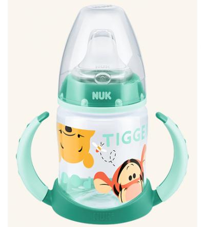 NUK εκπαιδευτικό μπιμπερό απο πολυπροπυλένιο & ρύγχος σιλικόνης σειρά Disney Winnie 6-18 μηνών