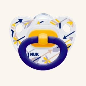 NUK Classic Happy Days Πιπίλα 18-36 M Silicone