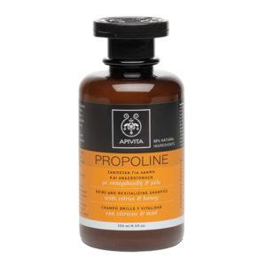 Apivita Propoline Σαμπουάν αναζοωγόνησης & λάμψης με εσπεριδοειδή & μέλι 250ml