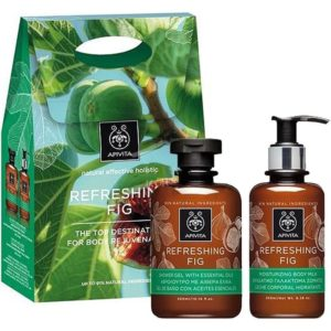 Apivita Promo Refreshing Fig Αφρόλουτρο 300ml & Ενυδατικό Γαλάκτωμα Σώματος 200ml
