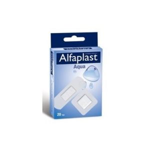 Alfaplast Aqua Διάφανο Αδιάβροχα σε Δυο Μεγέθη – 20 τεμάχια
