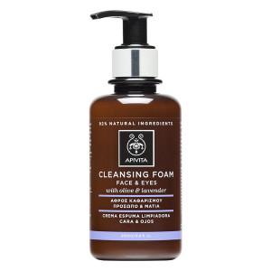 Apivita Cleansing Κρεμωδης Αφρός Καθαρισμού με Ελιά & Λεβάντα 200ml