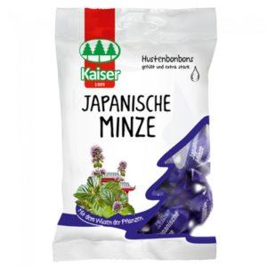 Kaiser Japanische Minze Καραμέλες με Έλαιο Ιαπωνικής Μέντας 75gr