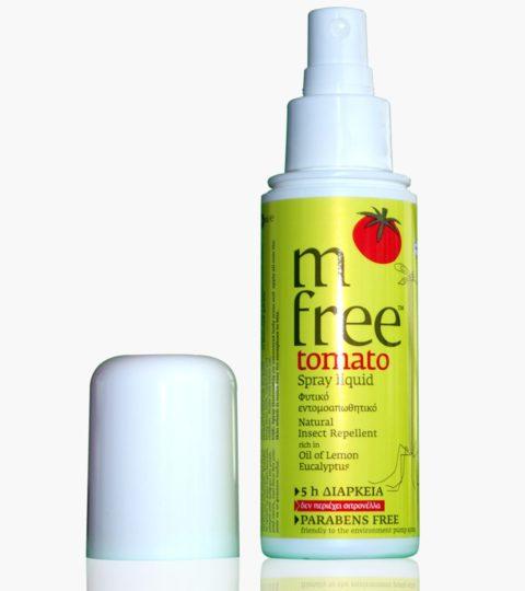 M Free Εντομοαπωθητικό Spray Tomato 80 Ml