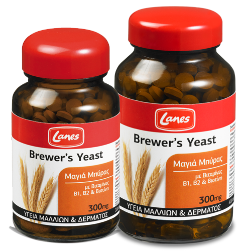 Lanes Brewer's Yeast 300mg , 400 Tab