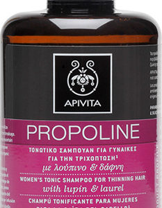 APIVITA PROPOLINE Γυναικείο Τονωτικό Σαμπουάν για την τριχόπτωση με λούπινο & δάφνη 250ml