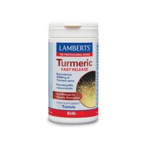 LAMBERTS  Turmeric Fast Release 60 TAB