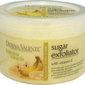 Donna Valente Banana Miracle Body Sugar Exfoliator 600gr