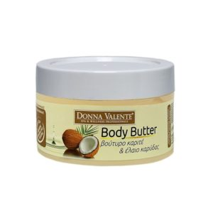 DONNA VALENTE Body Butter With Shea Butter & Coconut Oil 500ml